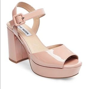 Steve Madden Trixie Sandals in Blush Pink, Br New